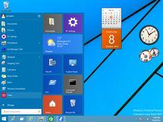 gadgets in Windows 10