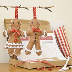 Mr And Mrs Gingerbread Craft Kit