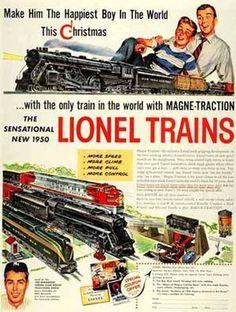 Lionel train datant