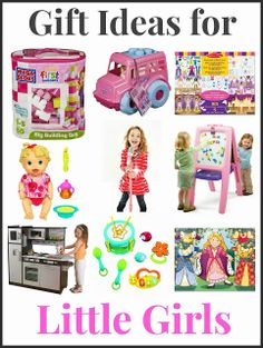 """Gift Ideas for Toddler and Preschool Girls.  Includes info on how most any toy can be a """"learning toy."""""""