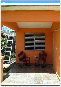 Porche de la vivienda. Vinales, Outdoor Decor, Home Decor, Terrace, Fences, Entryway, Decoration Home, Room Decor, Home Interior Design