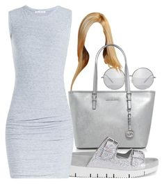 """""""Untitled #1196"""" by zykira ❤ liked on Polyvore featuring MICHAEL Michael Kors, Ash and James Perse"""