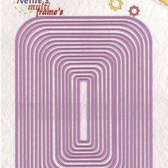 Nellies Choice multiframe rettangolo MFD103 - 19,90 EUR - Rettangolo MFD0103 dimensioni del telaio più grandi: 10,4 x 14,4 cm. (17 pezzi) - 4-5 giorni lavorativi