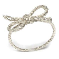 Forget Me Knot Ring designed by Kiel Mead via Poketo