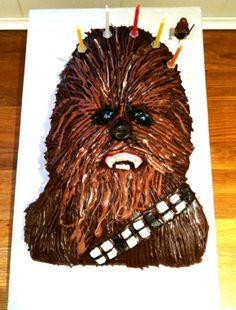 chewbacca cake - Google Search