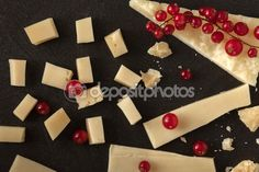 Pieces Of #Cheese And #Redcurrant #stockphoto #gourmet