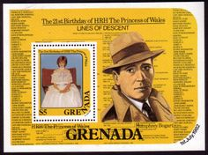 1982 Grenada Royal Baby Prince William Miniature Sheet Fine Mint Other West Indies and British Commonwealth Stamps HERE! Stamp Dealers, Seven Years' War, Buy Stamps, Baby Prince, Princess Of Wales, West Indies, Commonwealth, Stamp Collecting, 21st Birthday