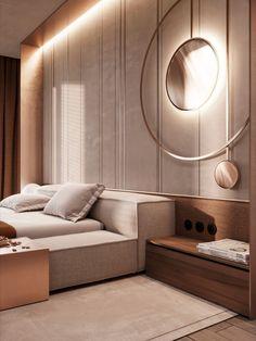Bedroom Wall Designs, Bedroom Furniture Design, Modern Bedroom Design, Bed Design, Master Bedroom Interior, Home Decor Bedroom, Room Decor, Home Building Design, Home Ceiling