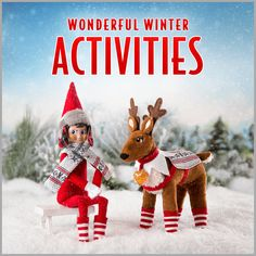 10 Indoor Winter Activities for Kids | Snow Day Fun | Elf on the Shelf Ideas