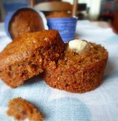 The English Kitchen: Super Duper Bran Muffins Coconut Muffins, Healthy Muffins, No Bake Desserts, Dessert Recipes, Easy Desserts, Raisin Bran Muffins, All Bran, Chips, English Kitchens