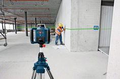 Bosch GRL 300 HVG Set Yeşil Lazerli Rotasyon Lazeri