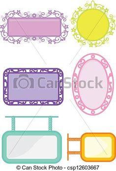 frames background - csp12603667