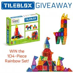 ends 12/26/17 Are you looking for a fun, educational toy that will get YEARS of use? Then this post is for you! Amber at Viva Veltoro recently got some Tileblox by Magformers for her kids, and they have been learning up a storm while playing with their new magnetic tiles. Check out her full review and then …