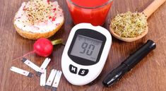 ▪ [Nulled Free]◭ Glucose Meter With Accessories For Diabetic And Healthy Food And Drink Accessories Alfalfa Analyze Bread Breakfast Bun Diabetic Recipes, Diet Recipes, Healthy Recipes, Vitamins For Vegetarians, Lower Blood Sugar, Blood Sugar Levels, Fatty Fish, Variety Of Fruits, Healthy Juices