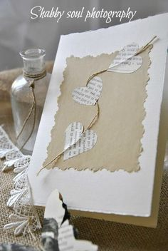 Karten basteln Finishing Touch Interiors: Cute Christmas Card Ideas Your Guide to Bathroom Planning Diy Christmas Cards, Valentine Day Cards, Xmas Cards, Diy Cards, Handmade Christmas, Valentines Hearts, Christmas Projects, Heart Cards, Valentine Decorations