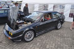 Alfa Romeo Gtv6, Alfa Romeo Cars, Garage Cafe, Alfa Gtv, Alpha Dog, Cars Motorcycles, Vintage Cars, Cool Cars, Classic Cars
