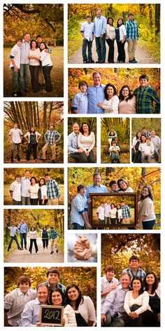 Family pictures with older children * Fall family pictures