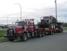 rollerman1:Kenworth heavy haul with a Kenworth 963 8x8 tandem...