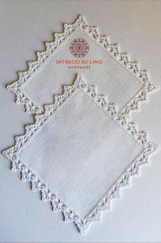 Crochet Lace Edging, Crochet Borders, Crochet Patterns, Russian Crochet, Crochet World, Crochet Projects, Tatting, Diy And Crafts, Sewing