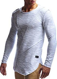 LEIF NELSON Men's Oversize Sweatshirt Hoodie Hoody LN6323