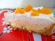 Receita Torta mousse de pêssego