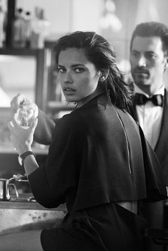 Adriana Lima by Peter Lindbergh for IWC Watches Portofino 2014