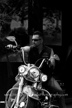 They say four wheels move the body, two wheels move the soul.  Harley Davidson portrait photo shoot at Mingo Creek State Park in PA Strawberry Snails Photography, Pittsburgh Portrait Photography