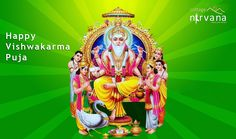 May Lord Vishwakarma And Lord Ganesh Always Be With You Happy Vishwakarma Puja And Ganesh
