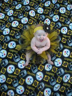 My baby girl will be a Steelers fan!!