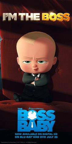 Words to live by, from The Boss Baby.