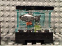 Lego Fish Tank Chairs House Decor Aquarium Room Furniture Town Friends