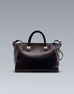 Zara Bowling Bag With Zips