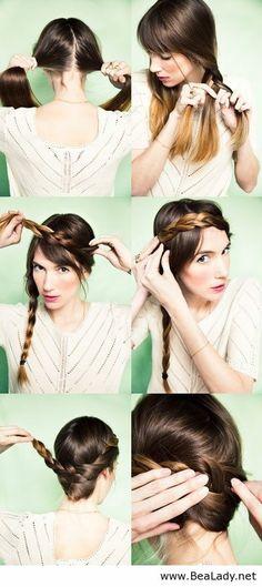 21 interesting hairstyle tutorials - BeaLady.net