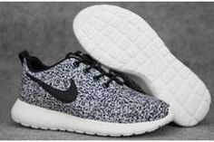 Nike Roshe Run Speckled White Womens Mens Shoes Sail Black Shoes