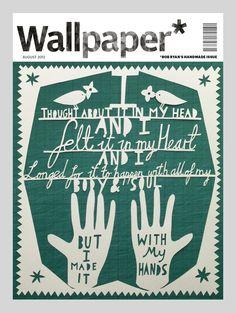 Wallpaper*'s handmade custom covers - Rob Ryan
