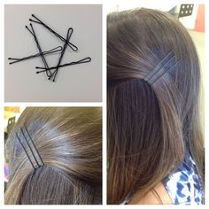 Have you been using these bad boys the wrong way? Make sure you're putting bobby pins in with the wavy side against your head; it will help grip your hair and stay in place. #Vocalpoint
