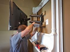Image detail for -How to Build a TV Wall Mount Frame : How-To : DIY Network