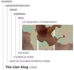 I'm Yelling Simba. #Tumblr #Funny_Tumblr #Humor