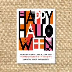 Hey, I found this really awesome Etsy listing at http://www.etsy.com/listing/108241740/big-happy-halloween-invitation