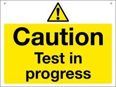 Testing! Testing!! Testing!!!