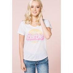 T-shirt blanc Barbie