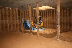Basement conversion construction in progress