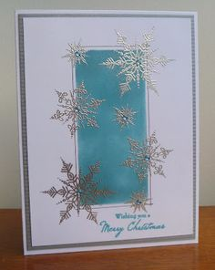 Snowflake stamp set from Personal Impressions.