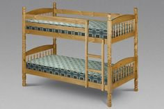 Bedworld Discount Lincoln - Wooden Bunk Beds Extra Small 75cm Lincoln bunk beds in solid pine.These Bunk Beds splits into 2 single beds with wooden slats. Dimensions Length: 202cm Width: 87cm Height: 155cm Dimensions Length: 202cm Width: 102cm Height http://www.comparestoreprices.co.uk/bunk-beds/bedworld-discount-lincoln--wooden-bunk-beds-extra-small-75cm.asp