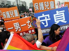 The greatest opposition to same-sex unions in Taiwan is coming from a small but extremely vocal and organized Christian minority, says Taipei Times report
