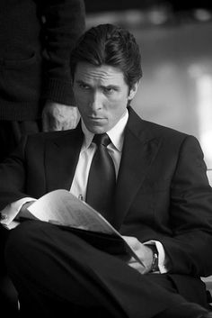 Christian Bale! Love him so much! Batman movies were the best ever!