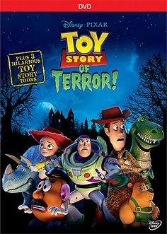The hilarious computer-animated short film Toy Story of Terror! features characters from the TOY STORY series as they try to solve a baffling mystery. After being forced to take a pit stop at a motel