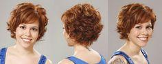 Resultado de imagem para cabelos cacheados curtos
