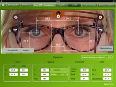 iPad measurements, optician tools, 4 multiviews, $99