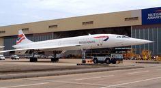 British Airways Concorde Cabin - Late 1990s